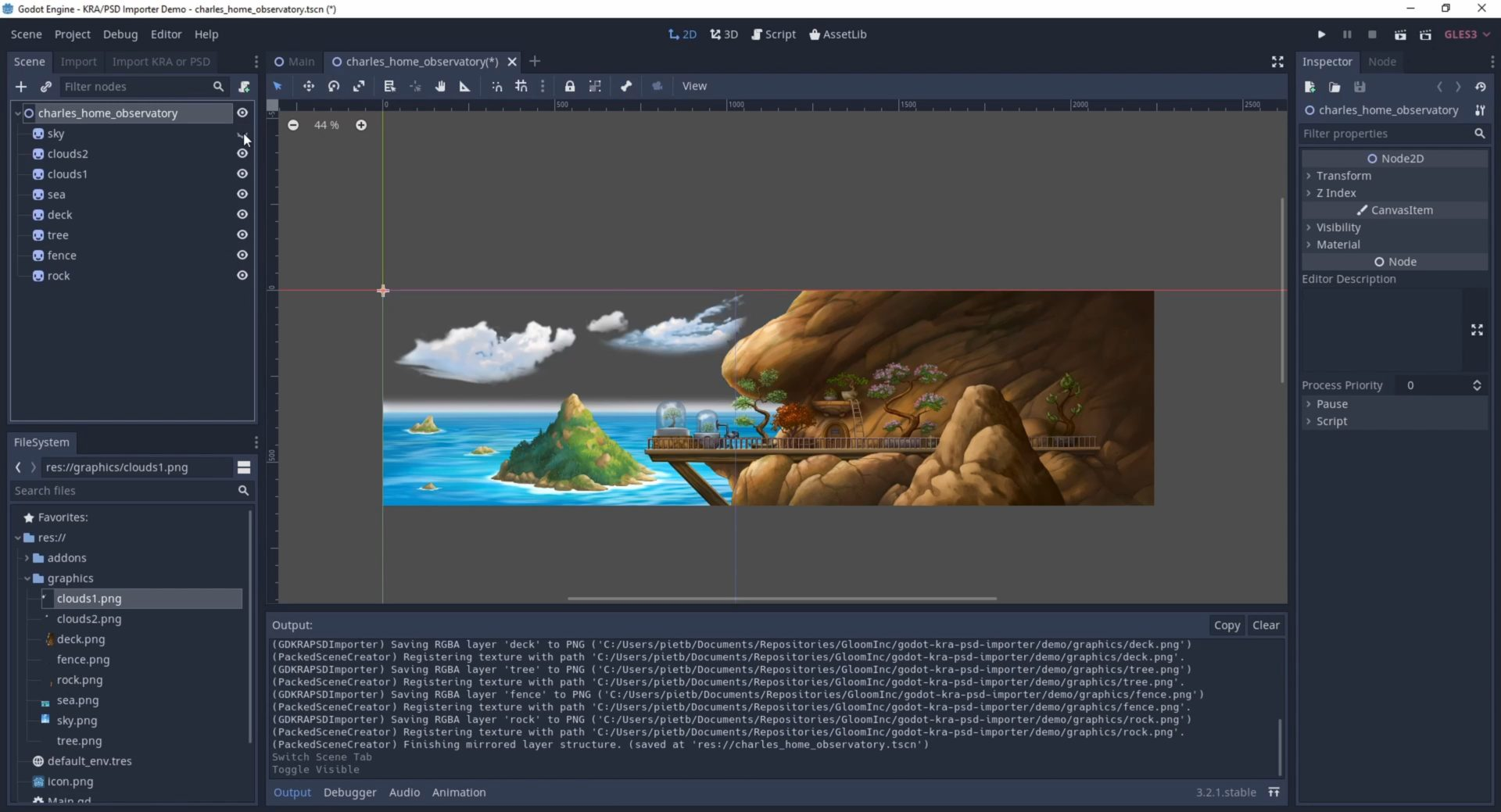 Gamechuck's FOSS pipeline: Asset importer tool for Godot engine