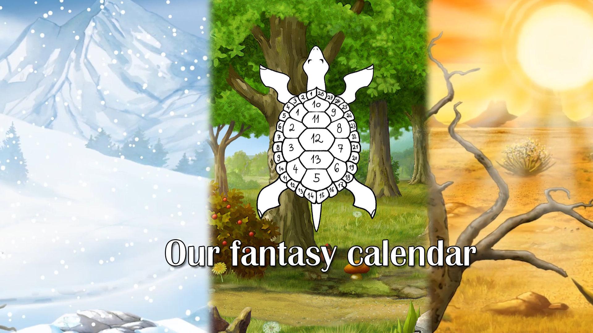 Trip the Ark Fantastic fantasy calendar