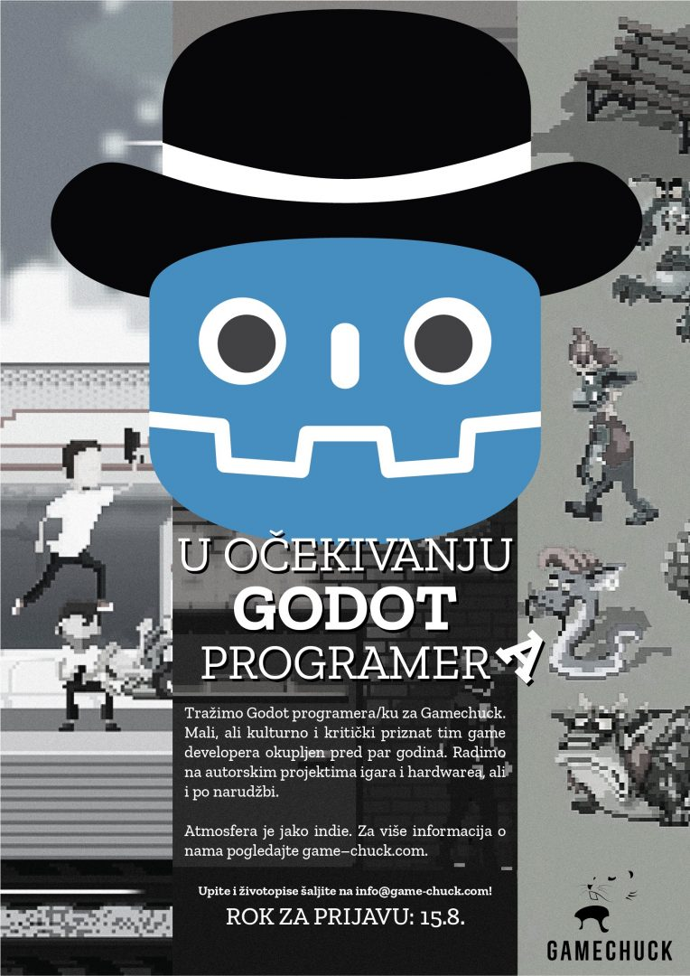 Gamechuck is hiring a Godot programmer
